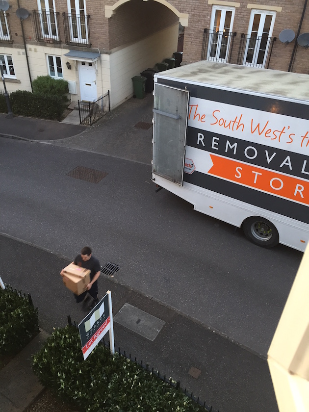 local and national removals exeter and devon from van man removals exeter