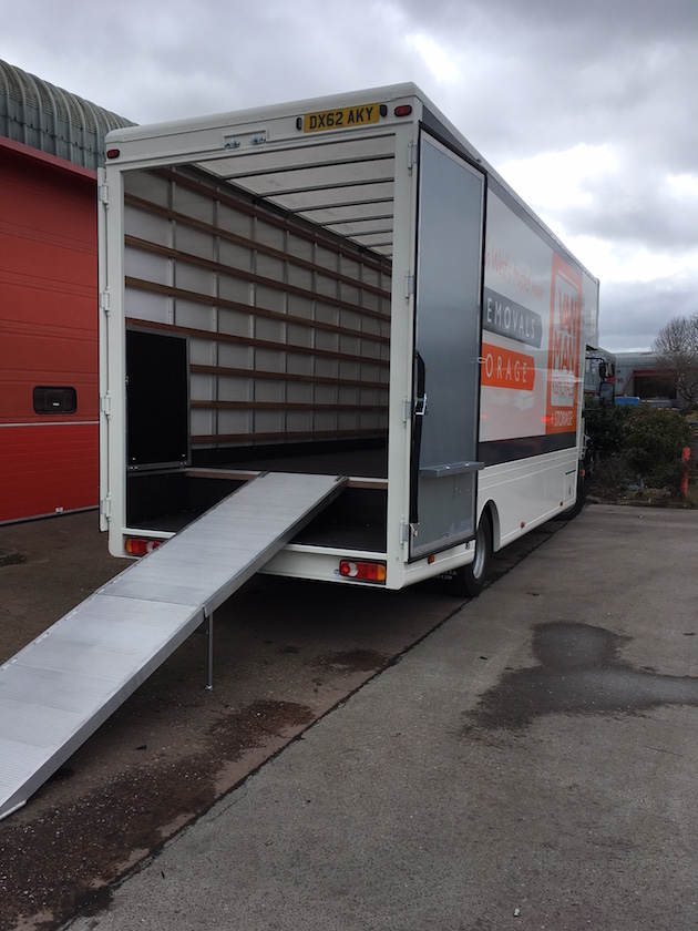 House removals vehicles exeter devon tiverton
