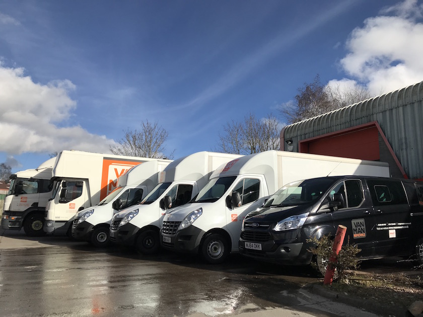 Removal Company Exeter - Our removal fleet