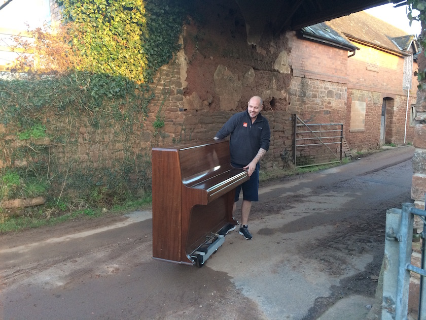 Piano movers exeter