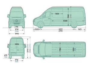 Mercedes Sprinter 311 Mwb Length