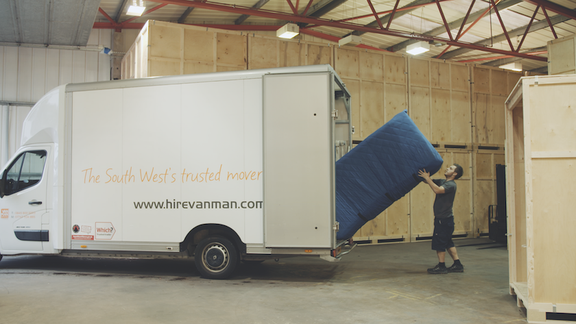 Storage Tiverton and  Removals and storage Tiverton